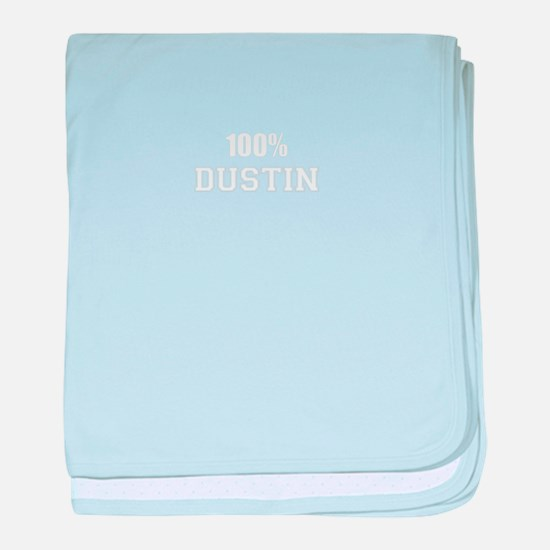 100% DUSTIN baby blanket