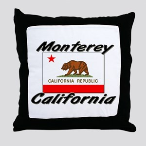 Monterey California Throw Pillow