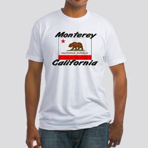 Monterey California Fitted T-Shirt