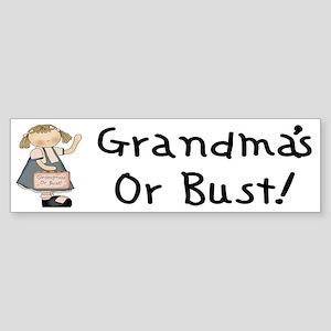 Going to Grandmas Bumper Sticker