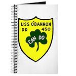 USS O'Bannon (DD 450) Journal