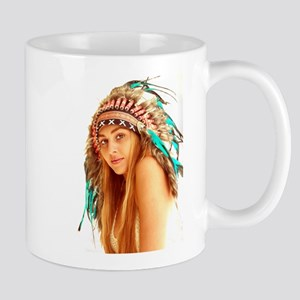 Indian warrior 27 Mugs