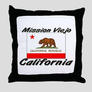 Mission Viejo California Throw Pillow