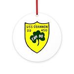 USS O'Bannon (DD 450) Ornament (Round)