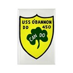 USS O'Bannon (DD 450) Rectangle Magnet