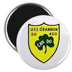 USS O'Bannon (DD 450) Magnet