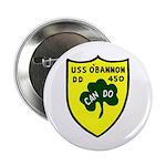 "USS O'Bannon (DD 450) 2.25"" Button (100 pack)"