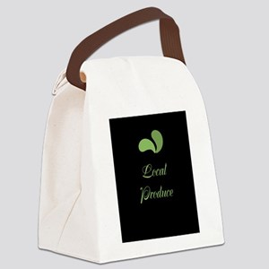 Cool Eco Green Canvas Lunch Bag