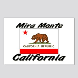 Mira Monte California Postcards (Package of 8)