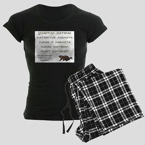woodchuck-latin Pajamas