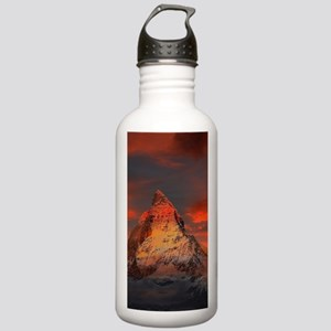 Iconic Alpine Mountain Stainless Water Bottle 1.0L