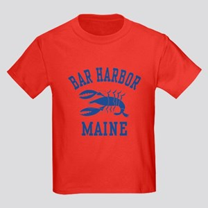 Bar Harbor Maine Kids Dark T-Shirt