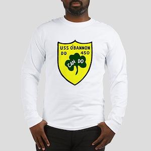 USS O'Bannon (DD 450) Long Sleeve T-Shirt
