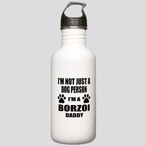 I'm a Borzoi Daddy Stainless Water Bottle 1.0L