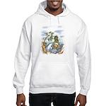 Green Man and Dolphin 082017 Sweatshirt