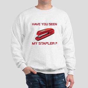 Red Stapler Sweatshirt