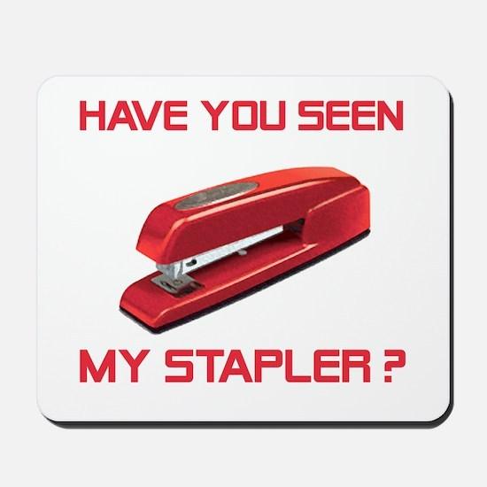 Red Stapler Mousepad