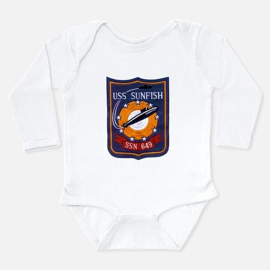 USS SUNFISH Infant Bodysuit Body Suit
