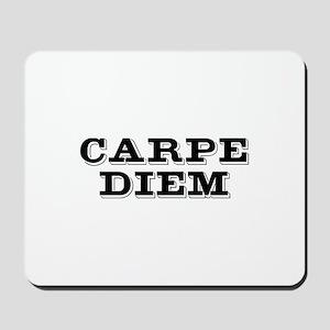 """Carpe Diem"" Mousepad"