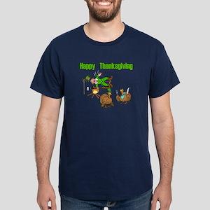 Funny Thanksgiving Dark T-Shirt