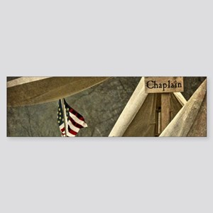 Army Chaplain Bumper Sticker