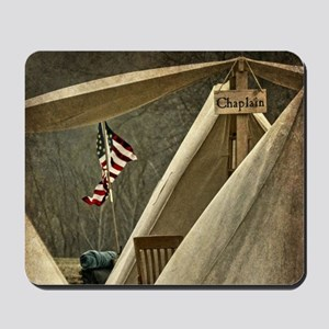 Army Chaplain Mousepad