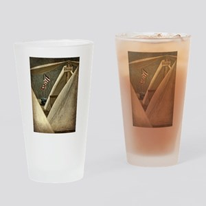 Army Chaplain Drinking Glass