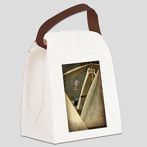 Army Chaplain Canvas Lunch Bag