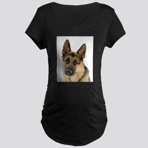 german shepherd Maternity T-Shirt