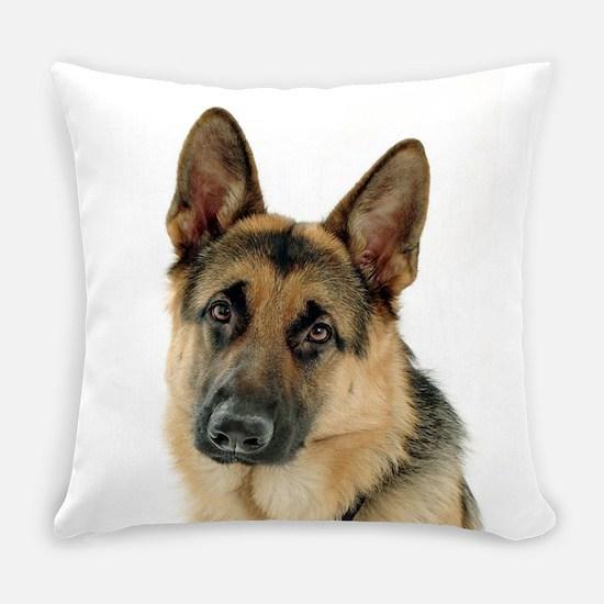 German Shepherd Everyday Pillow