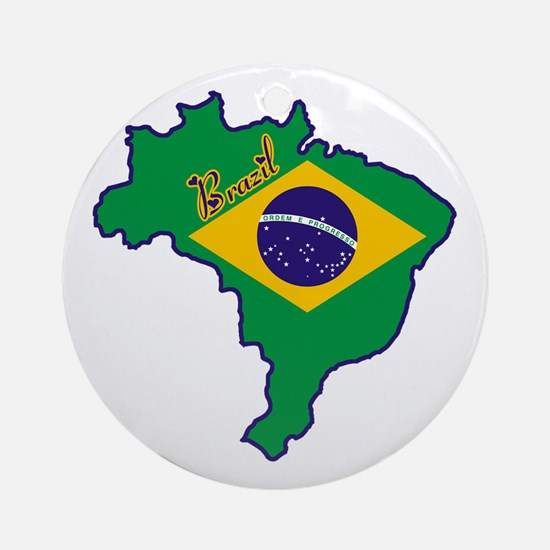Cool Brazil Ornament (Round)