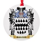 Satterfield Round Ornament