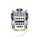 Satterfield Oval Car Magnet