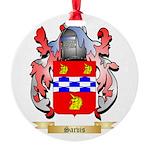 Sarvis Round Ornament
