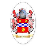 Sarvis Sticker (Oval)