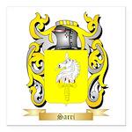 Sarri Square Car Magnet 3