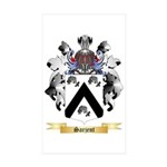 Sarjent Sticker (Rectangle 50 pk)