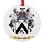 Sarjeant Round Ornament
