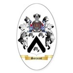 Sarjeant Sticker (Oval)