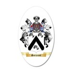 Sarjeant 20x12 Oval Wall Decal