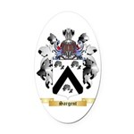 Sargent Oval Car Magnet