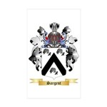 Sargent Sticker (Rectangle 50 pk)