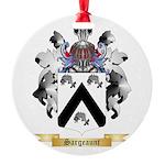 Sargeaunt Round Ornament