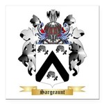 Sargeaunt Square Car Magnet 3