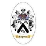 Sargeaunt Sticker (Oval 50 pk)