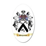 Sargeaunt 20x12 Oval Wall Decal