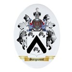Sargeaunt Oval Ornament