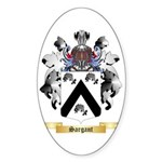 Sargant Sticker (Oval 50 pk)
