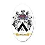 Sargant 35x21 Oval Wall Decal