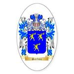 Sardou Sticker (Oval 10 pk)